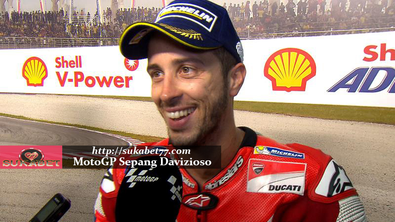 Kemenangan Pertama Dovizioso Di Sepang Bersama Ducati di Sepang