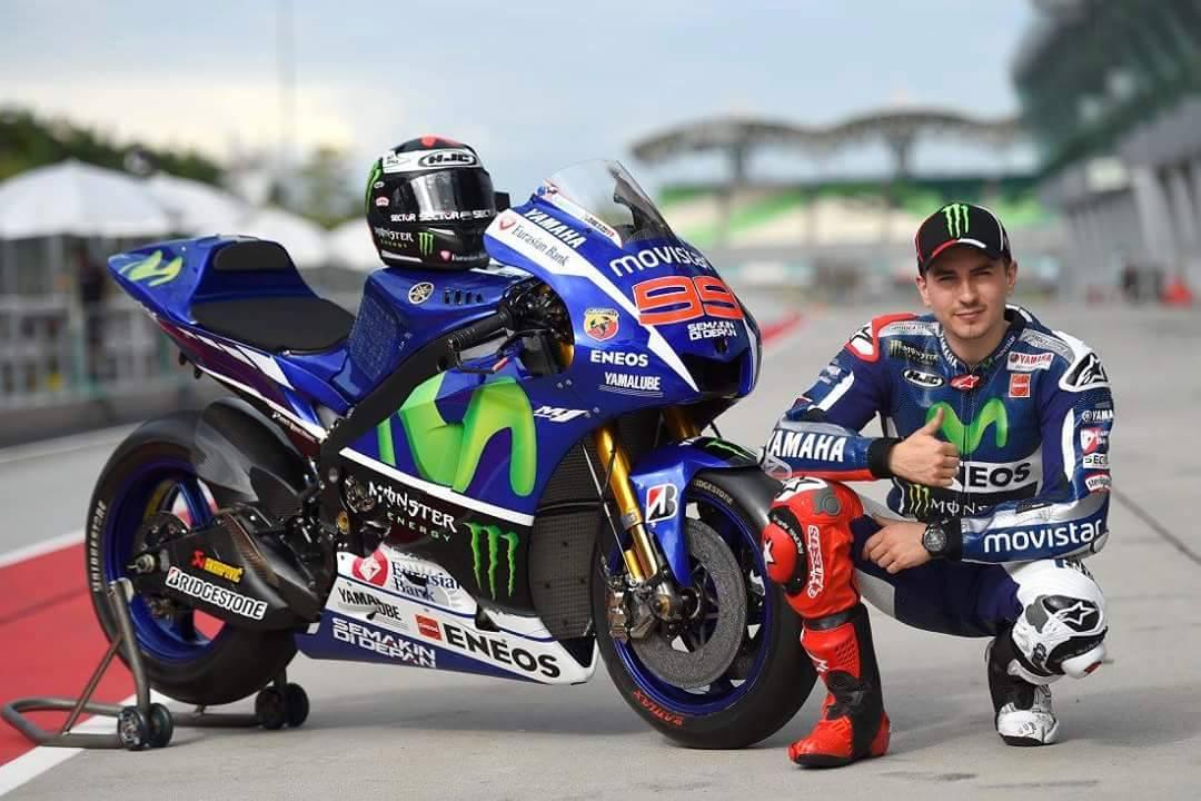 Jorge Lorenzo Fokus pada Posisi Ke Dua MotoGp