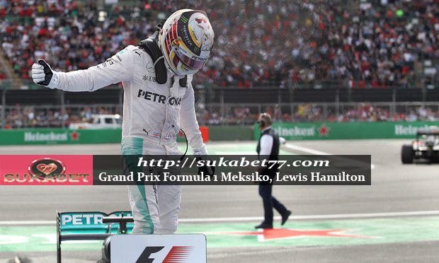 Lewis Hamilton Bersumpah Untuk Terus Berjuang Setelah Memenangkan Grand Prix Meksiko