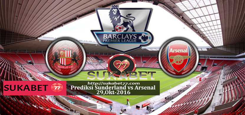 Prediksi English Premier League, Sunderland vs Arsenal 29 Oktober 2016