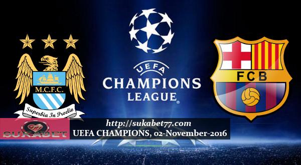 Prediksi UEFA Liga Champion Manchester City VS Barcelona