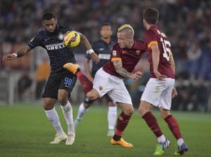 AS Roma Mengalahkan Inter Milan Dengan Skor 2 – 1