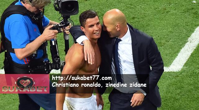 Kontrak Diperpanjang, Christiano Ronaldo Bicara Soal Zinedine Zidane