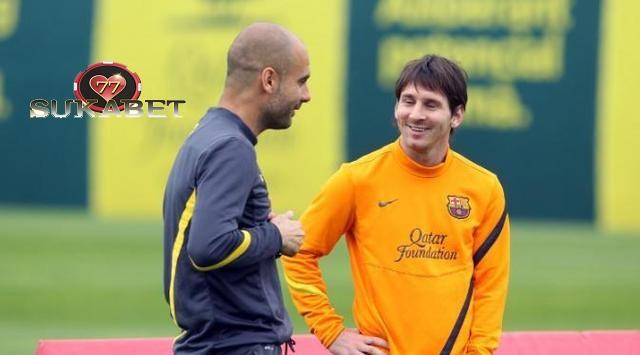 Messi Dukung Guardiola Sukses Bersama Manchester City