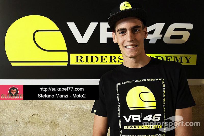 Stefano Manzi segel kursi kedua di tim Moto2