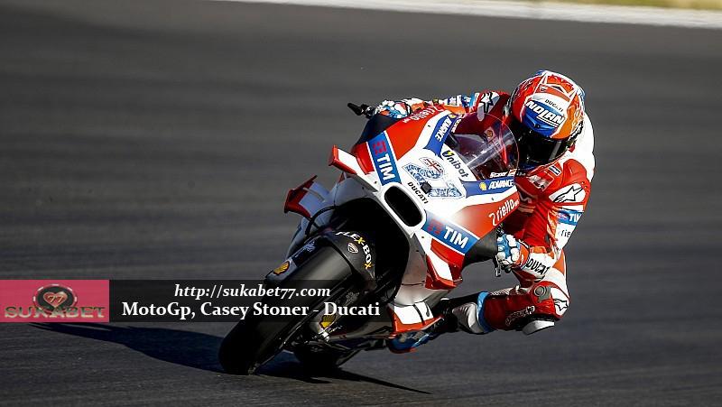 MotoGP: Ducati Paolo Ciabatti Mengatakan Casey Stoner Tidak Ada Kesempatan Balapan Lagi