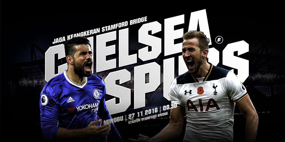 Prediksi Score Chelsea vs Tottenham Hotspur 27 November 2016