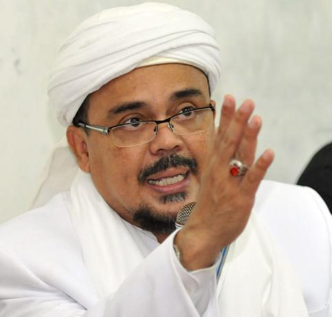 "Habib Rizieq : ""Setop Adu Domba Ulama"" Karna Mengundang Ulama Mesir"