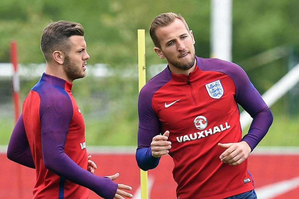 Jack Wilshere dan Harry Kane kembali Ke skuad Inggris Melawan Skotlandia dan Spanyol