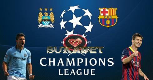 Akhirnya Manchester City Menang Besar Setelah Mengalahkan Barcelona Dengan Skor 3 -1