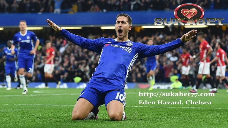 Antonio Conte mengatakan Eden Hazard peringkat yang terbaik