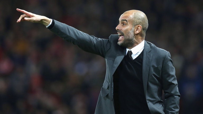 Pep Guardiola yakin Man City bisa mengganggu Barcelona pada Selasa malam