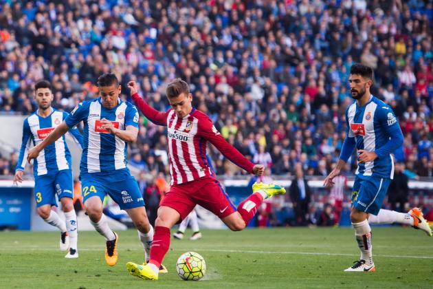 Hasil Skor Atletico Madrid vs Espanyol : 0-0