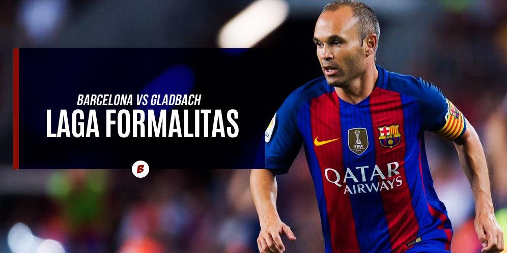 Prediksi Skor Barcelona vs Borussia Monchengladbach 7 Desember 2016