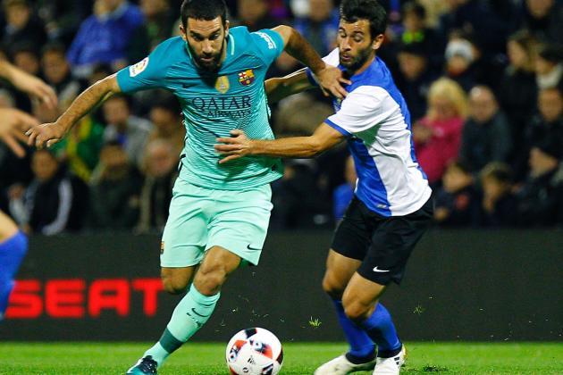 Barcelona Di Tahan Imbang Hercules 1-1 Copa Del Rey