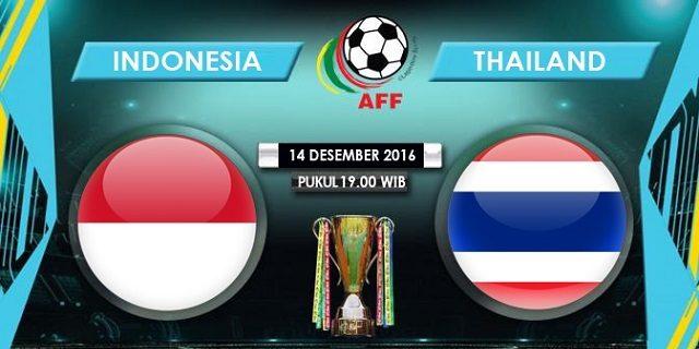 Prediksi Skor Indonesia vs Thailand 14 Desember 2016
