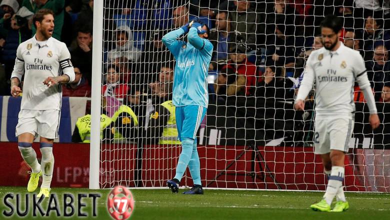 Membayar Kesalahan Navas Untuk Madrid
