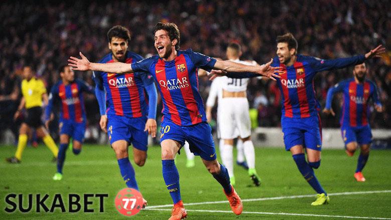 Barcelona Lolos Ke Perempatfinal Liga Champion Dengan Dramatis