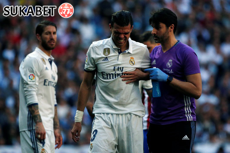 Derby Madrid Imbang, Pepe Cedera Tulang Rusuk
