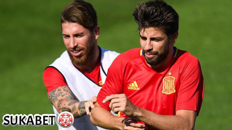 Pique dan Ramos Tetap Akur dan Solid
