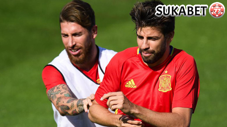 Ramos Beri Undangan Nonton Langsung Final Liga Champion ke Pique