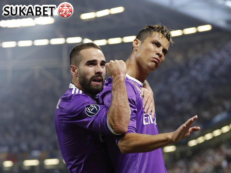 """Once Chance, Bang!"" Teriakan Ronaldo Saat Cetak Gol Gawang Juventus"