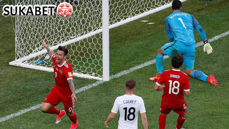 Rusia Tumbangkan Selandia Baru 2-0