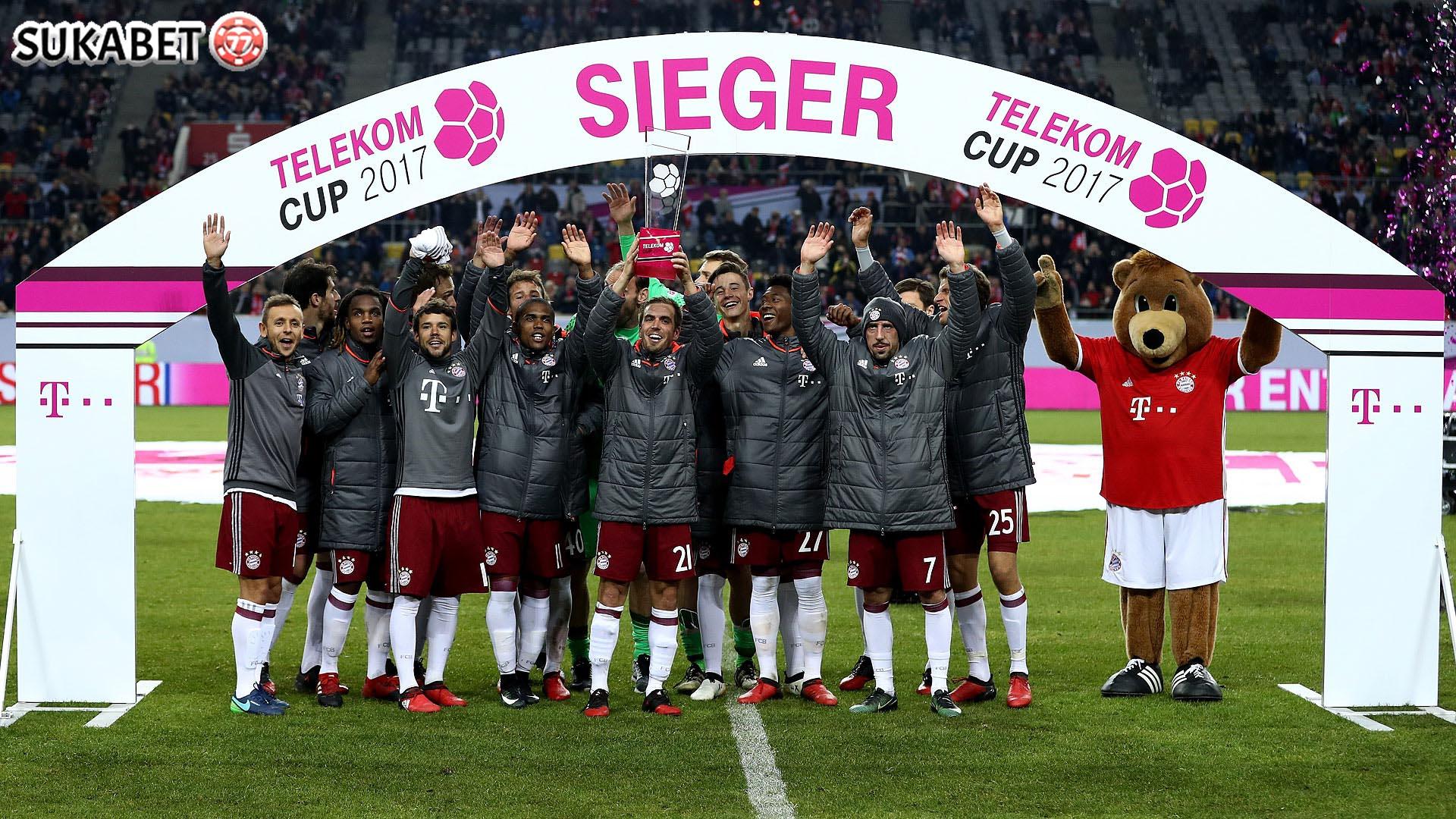 Bayern Juara Telekom Cup 2017