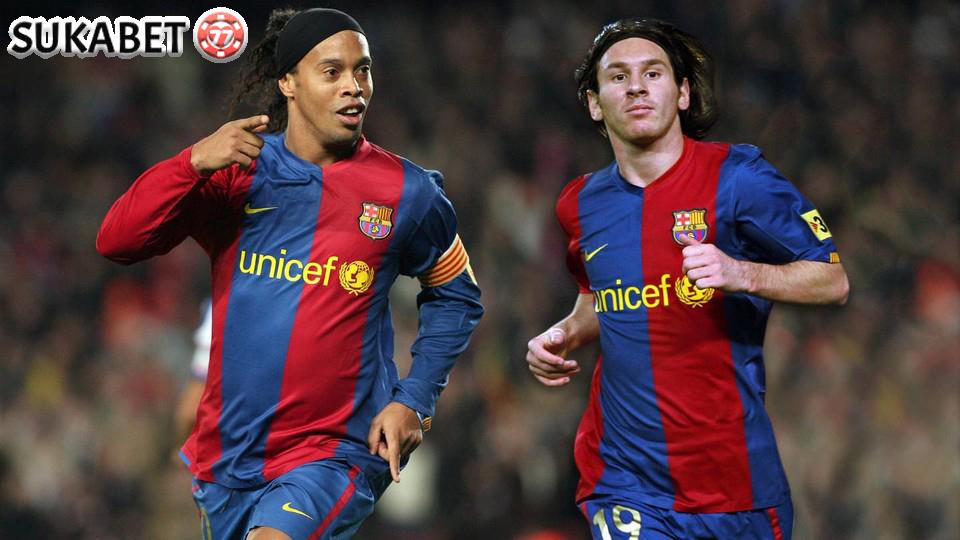 Ronaldinho: Saya Sudah Prediksi Messi Akan Jadi Pemain Terhebat Sepanjang Masa