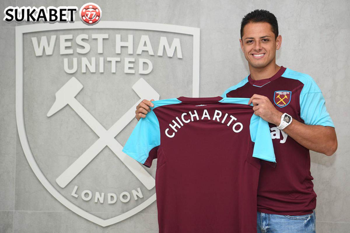 Debut Chicharito di West Ham Akan Jumpa Langsung Dengan Manchester United
