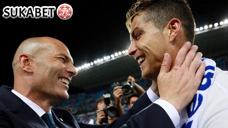 Zidane: Ronaldo Tidak Akan Tinggalkan Madrid