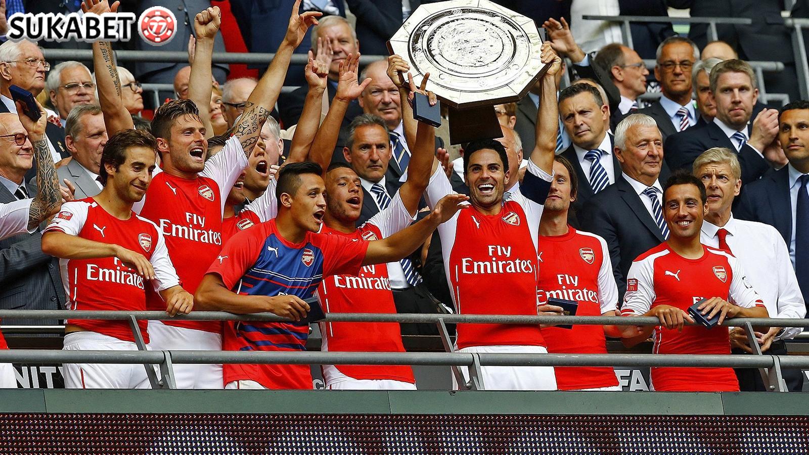 Arsenal Juara Community Shield Usai Kalahkan Chelsea Lewat Adu Penalti