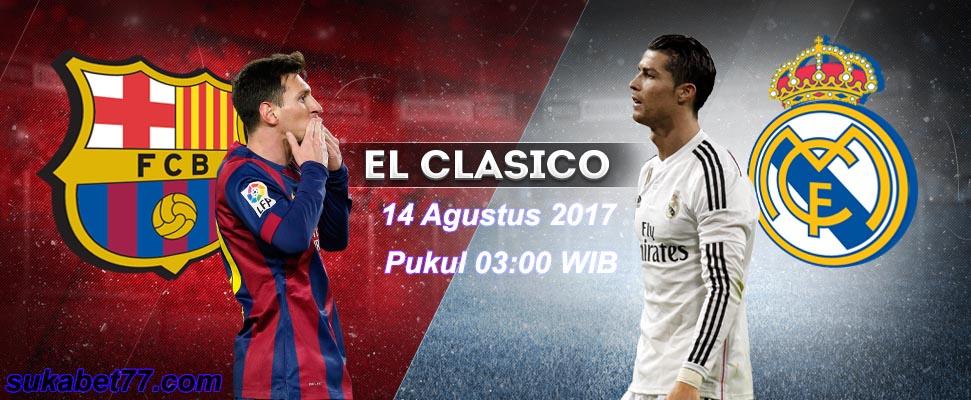 El Clasico : Real Madrid Balas Kekalahan Di Super Copa