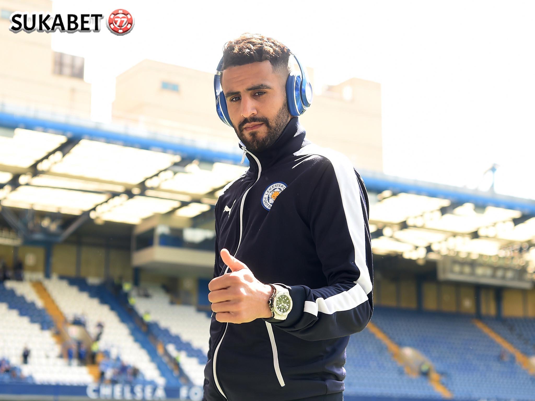 AS Roma dan Leicester Belum Capai Kesepakatan Terkait Mahrez