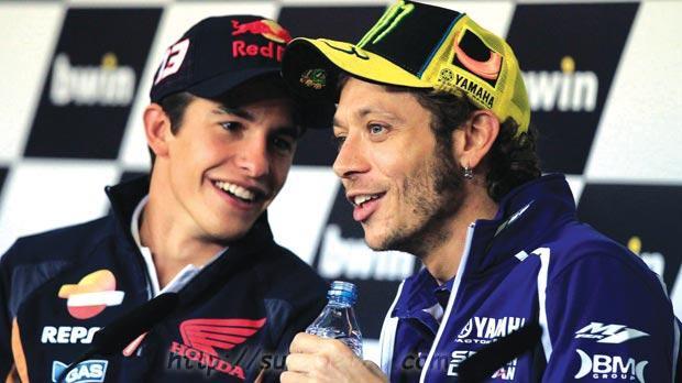 Rossi Dapat Dukungan Dari Para Rider MotoGP Terutama Dari Marc Marquez