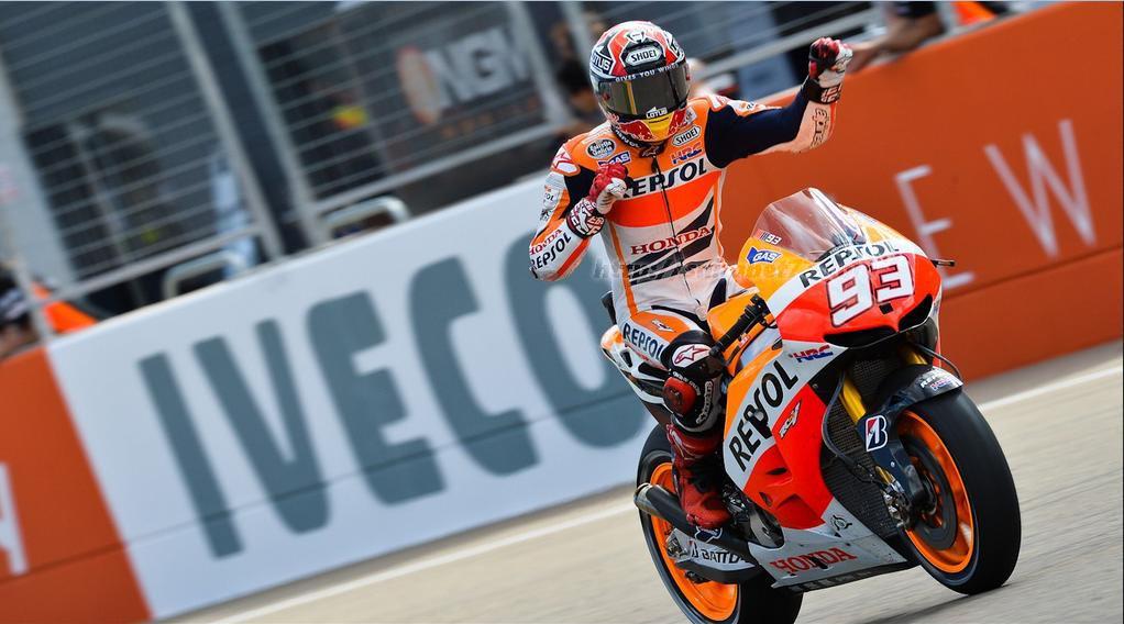 Marquez Tercatat Sebagai Yang Tercepat Latihan Kualifikasi Ke Tiga