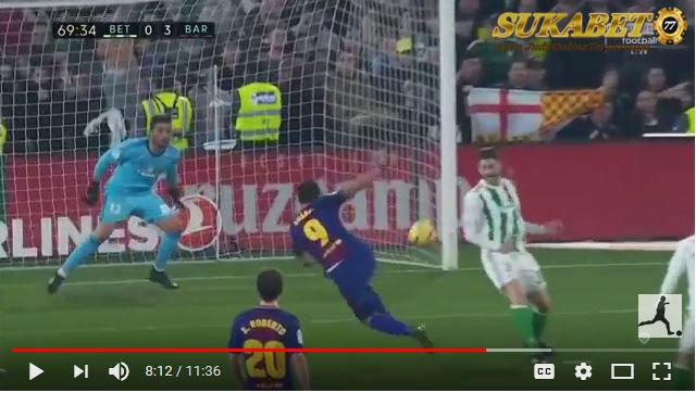 Barcelona Memborong Gol 5 - 0 Atas Real Betis