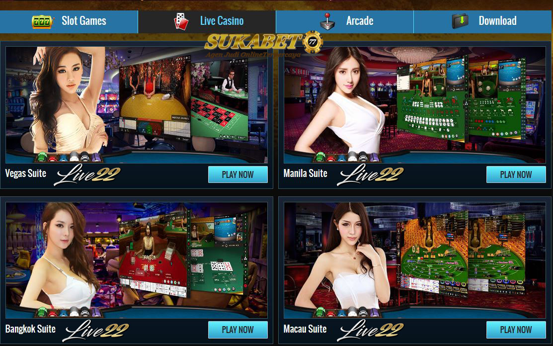 Live22.com Permainan Slot Mesin & Live Casino Online