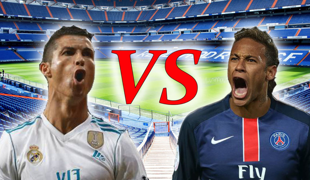 Persaingan Sengit Antara Real Madrid Vs PSG