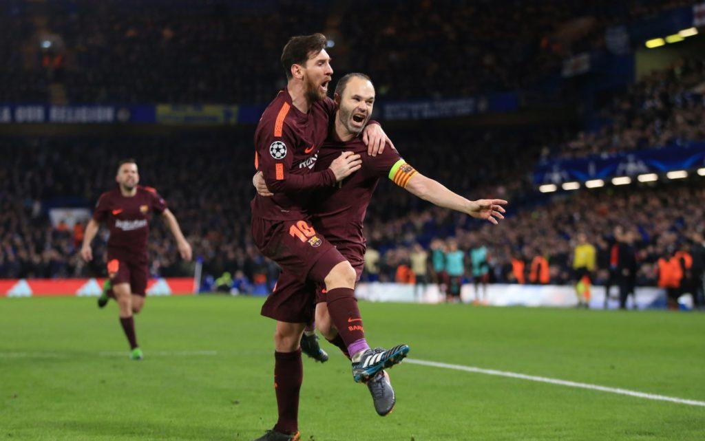 Chelsea Harus Ditahan Imbang Barcelona Dengan Skor 1-1