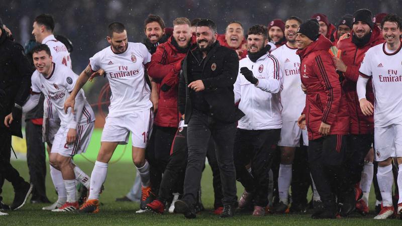 Ac Milan Akan Bertemu Juventus Setelah Menyingkirkan Lazio