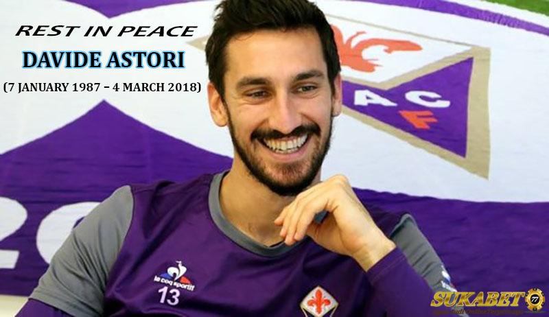 Serie A Berduka Atas Meninggalnya Kapten Fiorentina Davide Astori