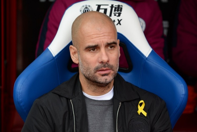 Didakwa Dari FA Untuk Pep Guardiola Soal Pita Kuning
