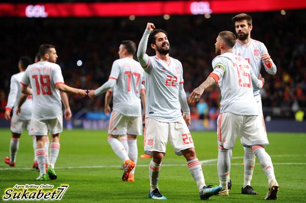 Isco Sumbang Tiga Gol Untuk Spanyol Saat Tekuk Argentina