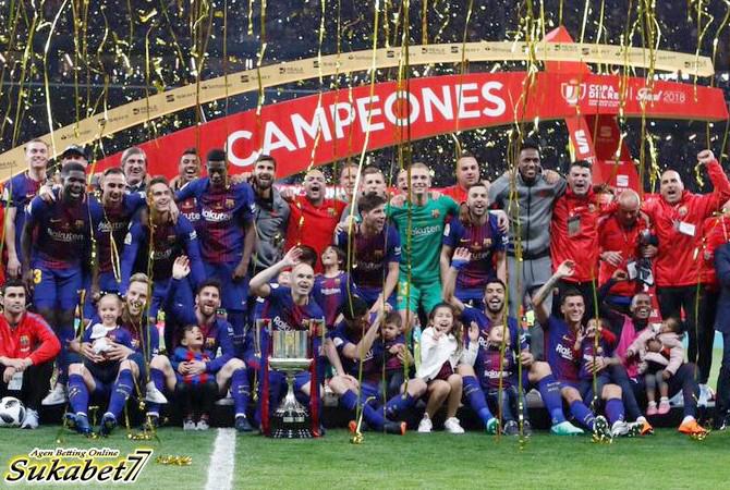 Barcelona Kunci Gelar Copa del Rey Setelah Taklukkan Sevilla