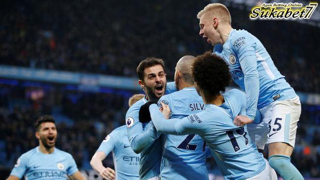 City Selangkah Lagi Menuju Juara Premier League