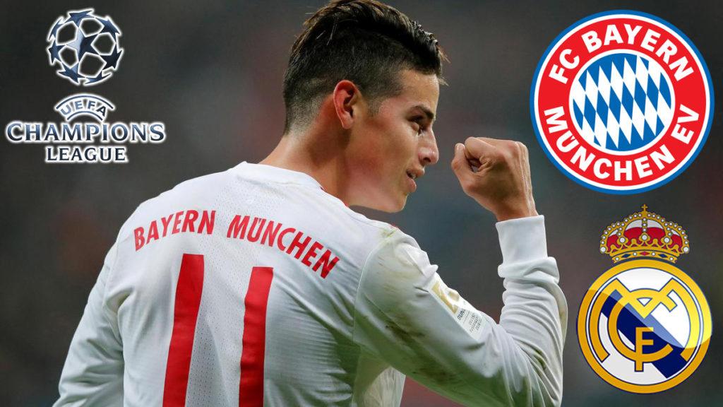 Reuni James Rodriguez Dengan Mantan Klub Di Ajang Liga Champions
