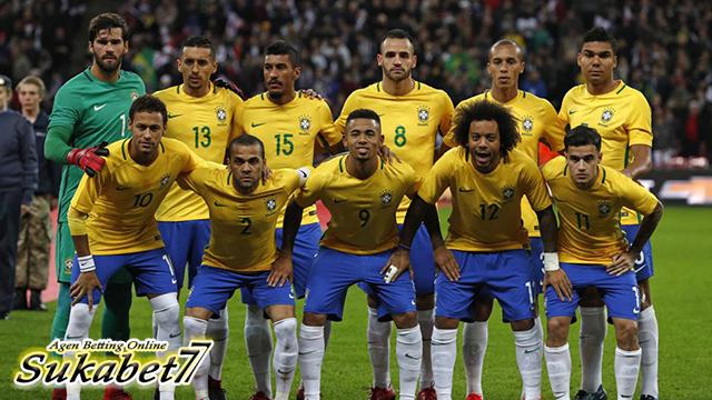 Daftar Susunan Pemain Timnas Brasil Yang Dibawa Ke Rusia