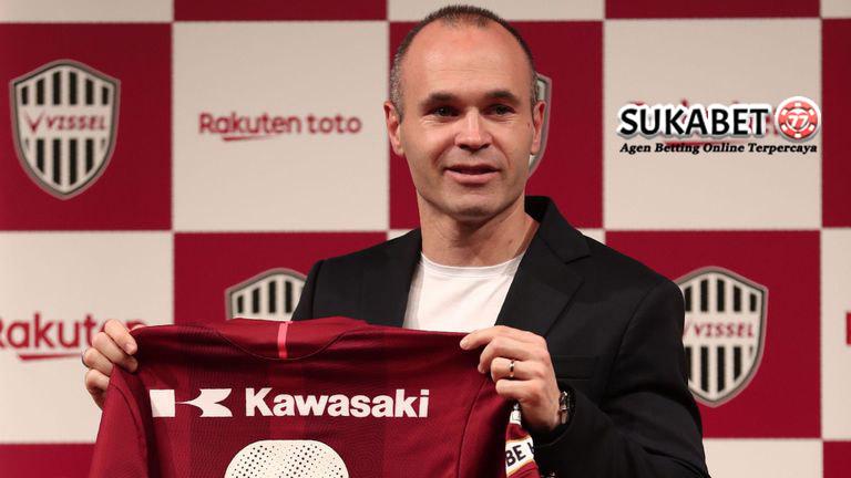 Menuju Vissel Kobe, Iniesta Ingin Sepakbola Jepang Maju