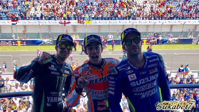 Kemenangan Kedua Marc Marquez Musim Ini Dirayakan Di Jerez Spanyol